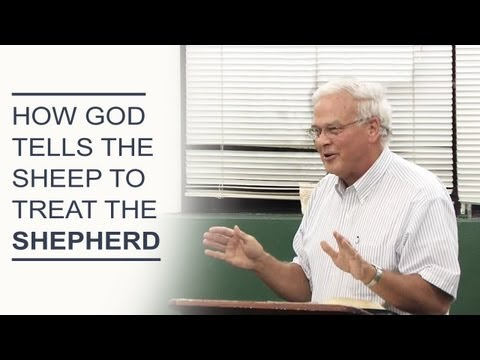 How God Tells the Sheep to Treat the Shepherd