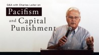 Pacifism and Capital Punishment