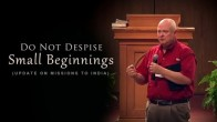 Do Not Despise Small Beginnings (Missions to India)