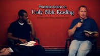 Practical Advice on Daily Bible Reading